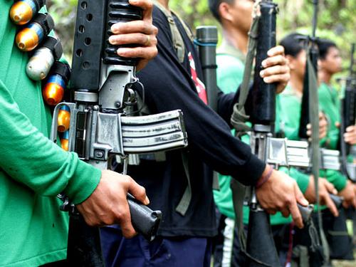 Philippinische Guerilleros