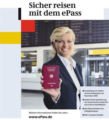 Ausschnitt aus Plakat des deutschen Innenministeriums