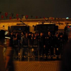 Polizisten am Taksim