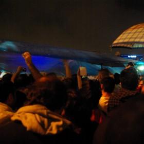 Platzregen am Taksim