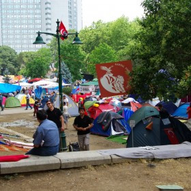 Camp im Gezi-Park
