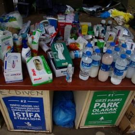 Mittel gegen Tränengasangriffe