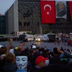 Kurz vor der Räumung, Taksim