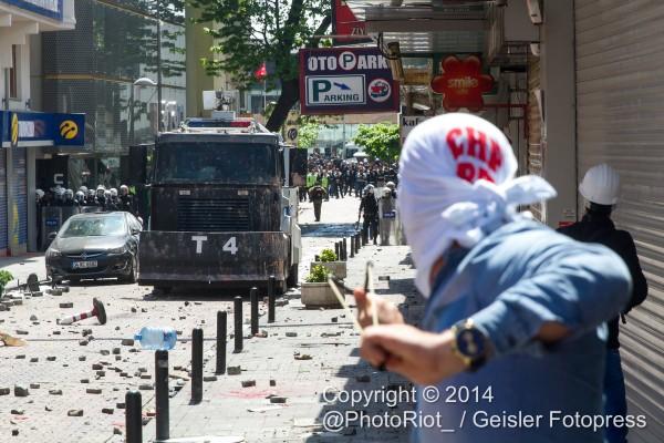 Istanbul 1. Mai 2014