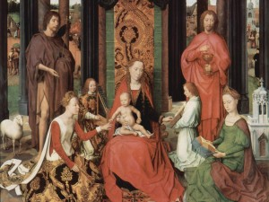 Hans Memling - Mystical Marriage of St.Catherine