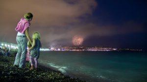 Blick auf die Uferpromenade von Nizza am 14. Juli 2014. Foto: CC-BY-NC-ND 2.0  Michael Foley Photography