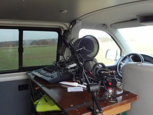 Mobiles Aufnahmestudio im VW-Bus von metronaut.de